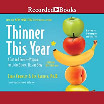 amazon com thinner this year a diet and exercise program for