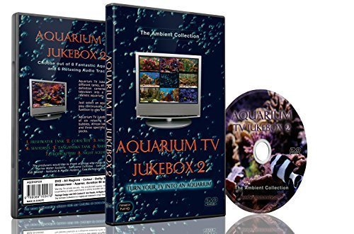 Aquariums DVD - Aquarium TV Jukebox 2 -Choose out 9 Fish Tanks with Music and Nature Sounds ()