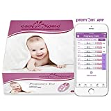 Easy@Home Branded 60 Pregnancy Tests, FSA Eligible, Powered by Premom Ovulation Predictor iOS and Android APP, 60 Tests