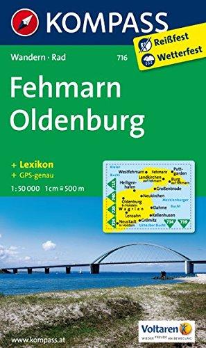 fehmarn-oldenburg-wanderkarte-mit-kurzfhrer-und-radrouten-gps-genau-1-50000-kompass-wanderkarten-band-716