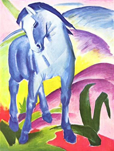Home Comforts Laminated Poster Marc, Franz - Blue Horse I Vivid Imagery Poster Print 24 x 36