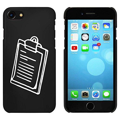 Noir 'Presse-Papiers' étui / housse pour iPhone 7 (MC00082979)