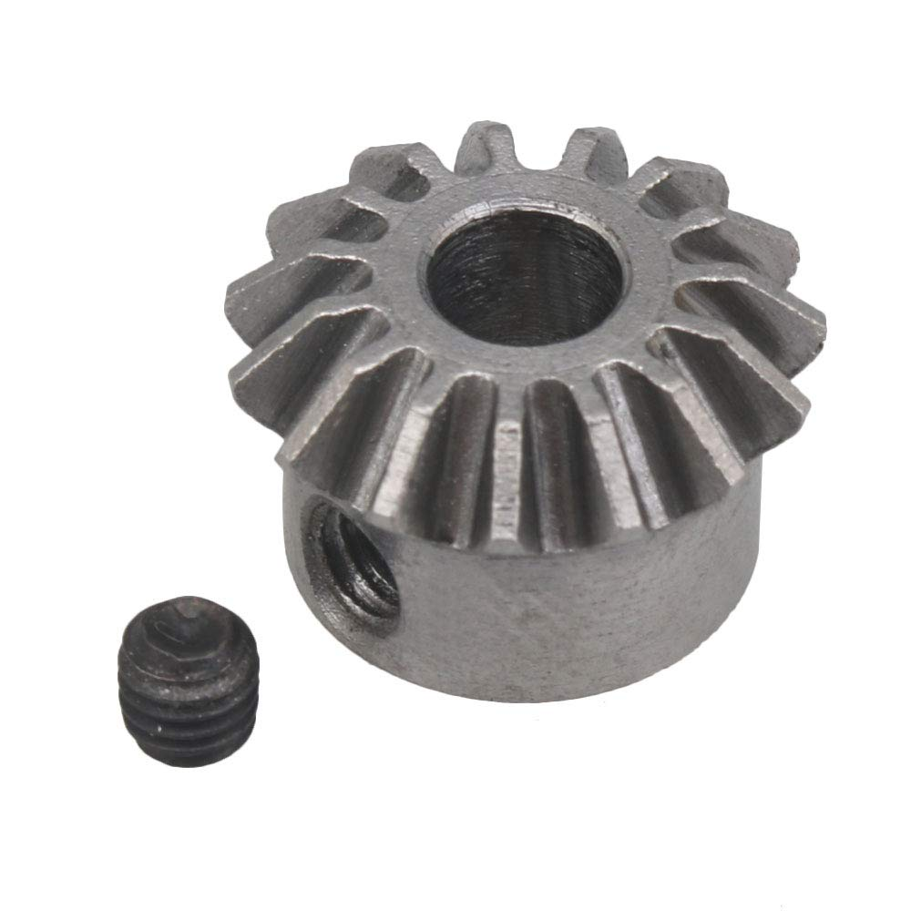 15x4mm 0.8Model Steel 90 Degrees Transmission Rear Bevel Gear for RC