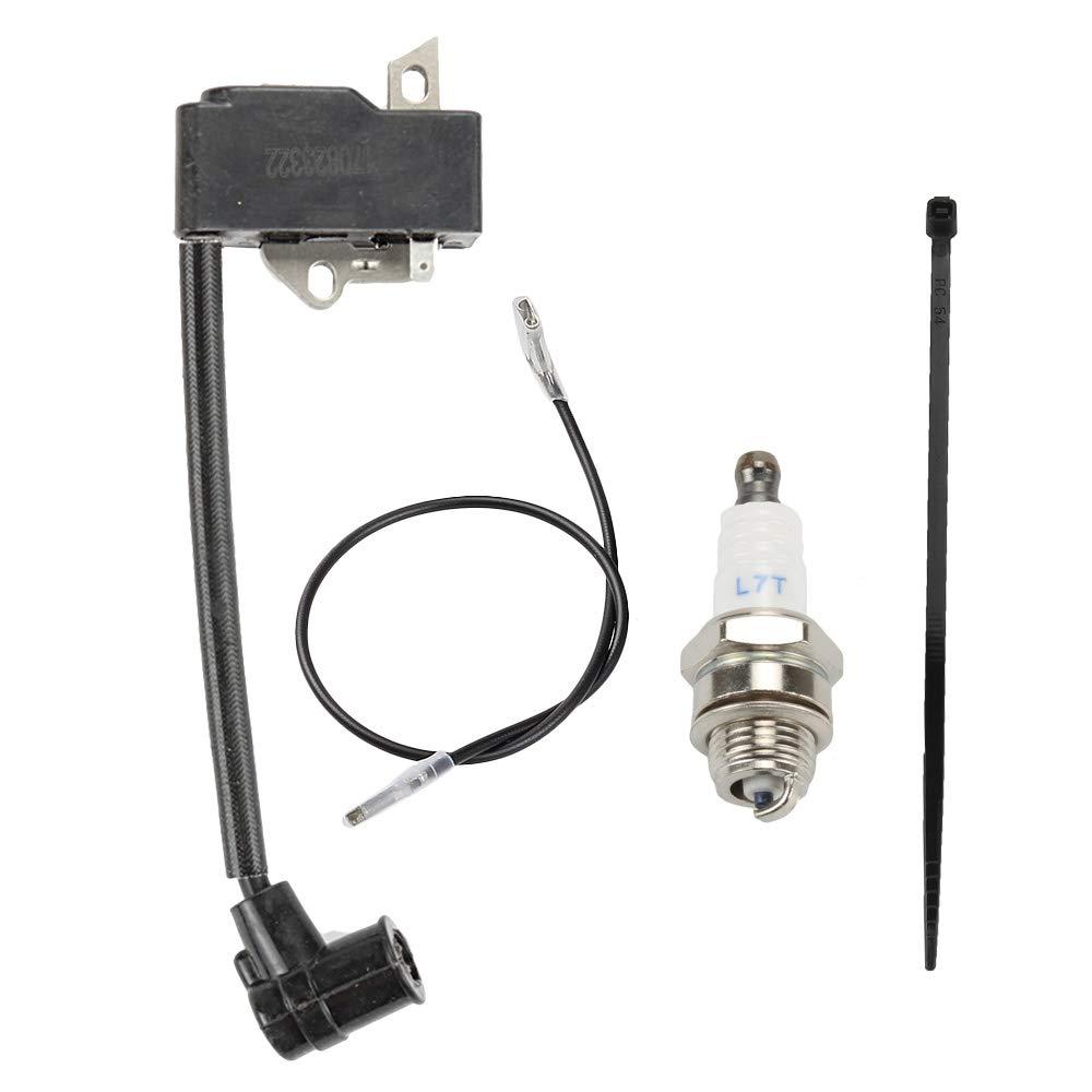 Wellsking 4137 400 1350 Ignition Coil Fits STIHL FS75 FS80 FS85 FC85 HT70 HT75 HL75 HL75K HS75 HS80 HS85 KM85 Hedge Trimmer Edger Pole Saw with Spark Plug by Wellsking
