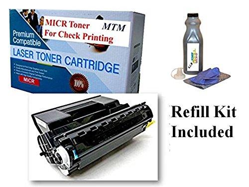 (Xerox MICR Toner 113R00712 Phaser 4510 4510B 4510N 4510DT 4510DX 4510YDT 4510YN 19K MICR Toner Cartridges for Check Printing. Prints 57,000 checks. by MICR Toner Mart.)