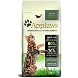 Applaws Katze,Huhn mit Lamm, Trockenfutter, 1er Pack (1 x 2 kg)