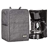 HOMEST Coffee Maker Dust Cover with Accessory