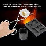 4pcs Graphite Crucible Set, Ingot Mold Torch