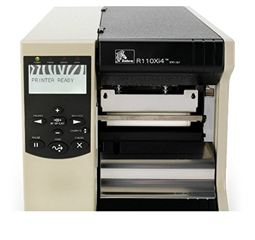 Zebra R110Xi4 RFID Printer-Encoder (203 dpi, Serial, Parallel, USB, 10/100, UHF)