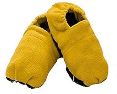 InnovaGoods Zapatillas de Casa Calentables en Microondas-Mostaza, Unisex Adulto, Amarillo, 38 EU: Amazon.es: Zapatos y complementos