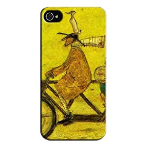 Fashion Design Protection For Iphone 5s Protective Hard Case Yellow HE2SNV