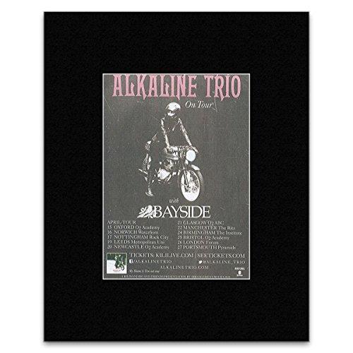 Alkaline Trio - UK Tour 2014 Mini Poster