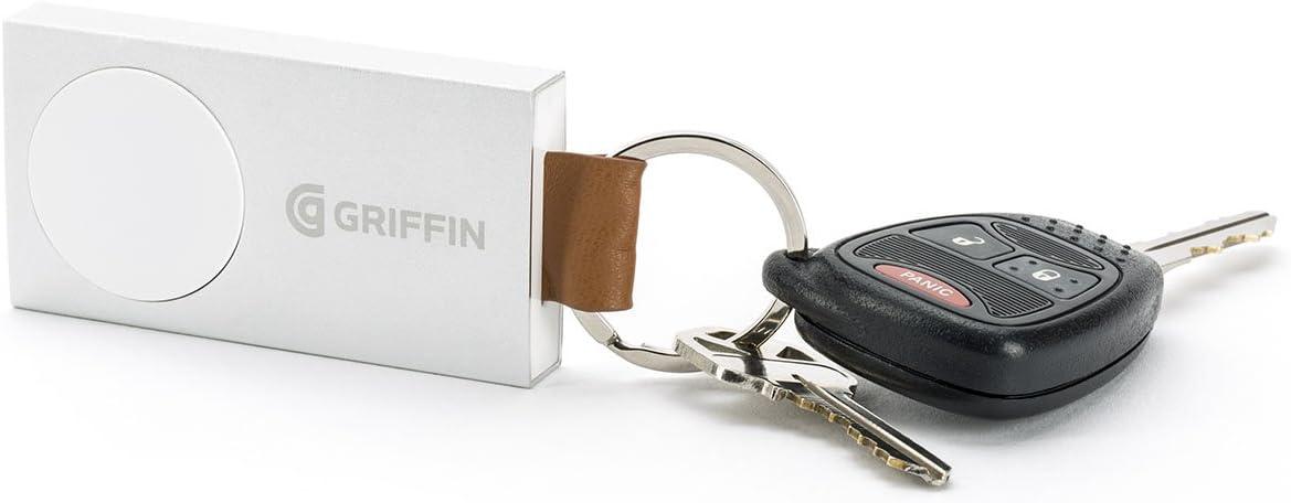 Griffin Petite Batterie Portable pour Montres Apple (38mm/42mm) - Aluminium