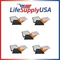 5 Pack Filter Kit Fits Rabbit Air Air Minus A2 SPA-780A & SPA-780A, by LifeSupplyUSA