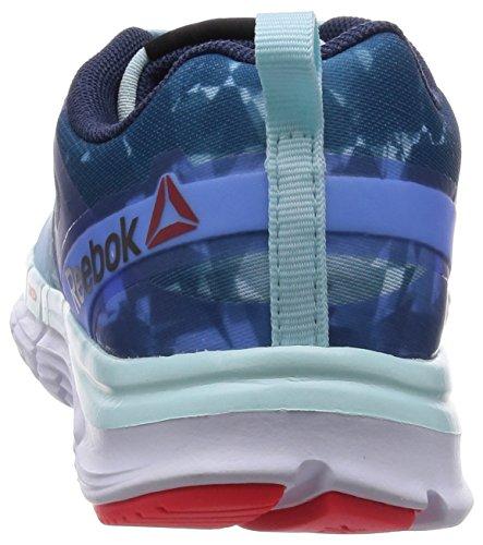 Reebok - Zquick Soul - V66326 - Couleur: Blanc-Bleu-Bleu marine - Pointure: 37.5