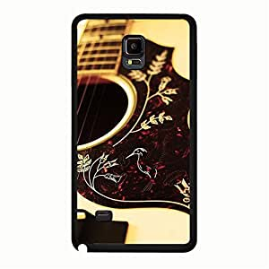 Guitar Prime Plastic Phone Case For Samsung Galaxy Note 4