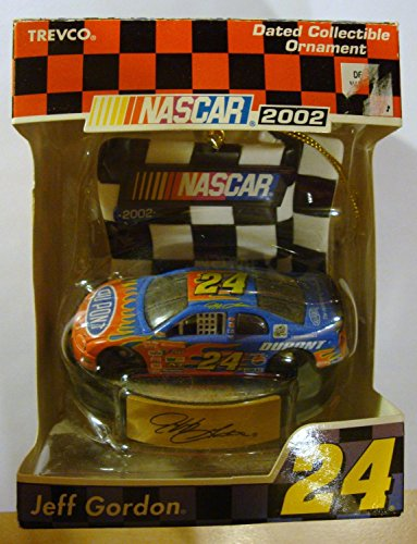 #24 Jeff Gordon 2002 Dated Collectible Ornament