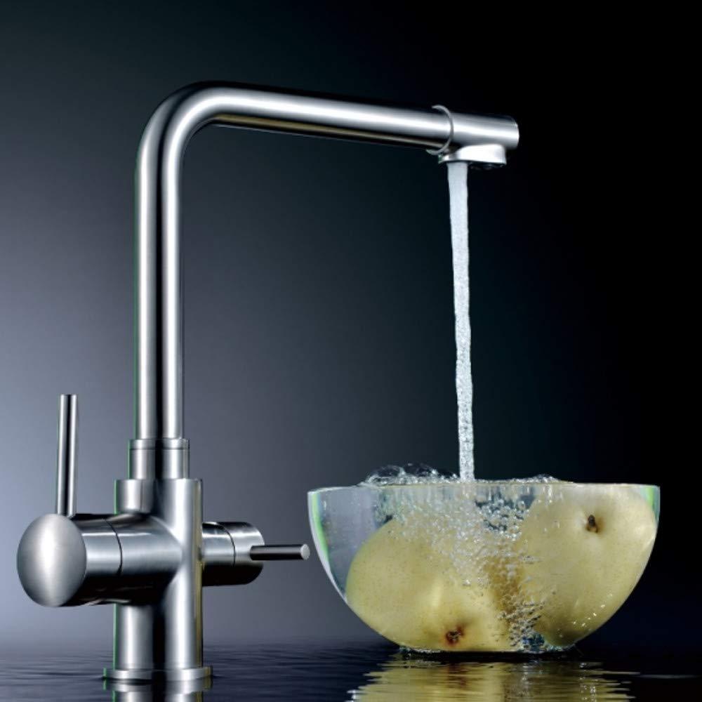 Diseñador de 3 Vías de agua grifo avatgarde L - Caño, acero ...