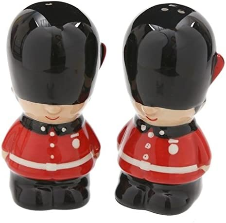Puckator Novelty Ufficiale Della Guardia Reale Set Sale e Pepe in Ceramica