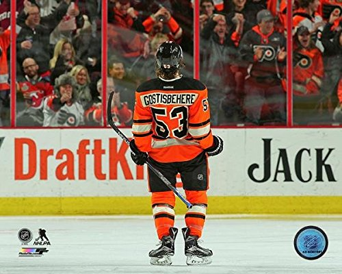 Philadelphia Flyers Photo File (Shayne Gostisbehere Philadelphia Flyers 2015-2016 NHL Action Photo (Size: 8