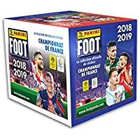 Panini-50 Pochettes Foot Championnat de France Stickers 2018-2019, 2428-004