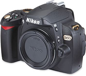 Amazon.com: Nikon D60 °Cámara réflex digital de 10.2 Mp ...