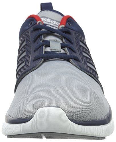 Grau Ftwr Collegiate Navy NEO White Cloudfoam adidas Grey Top Low Herren Groove x1v0SqYw
