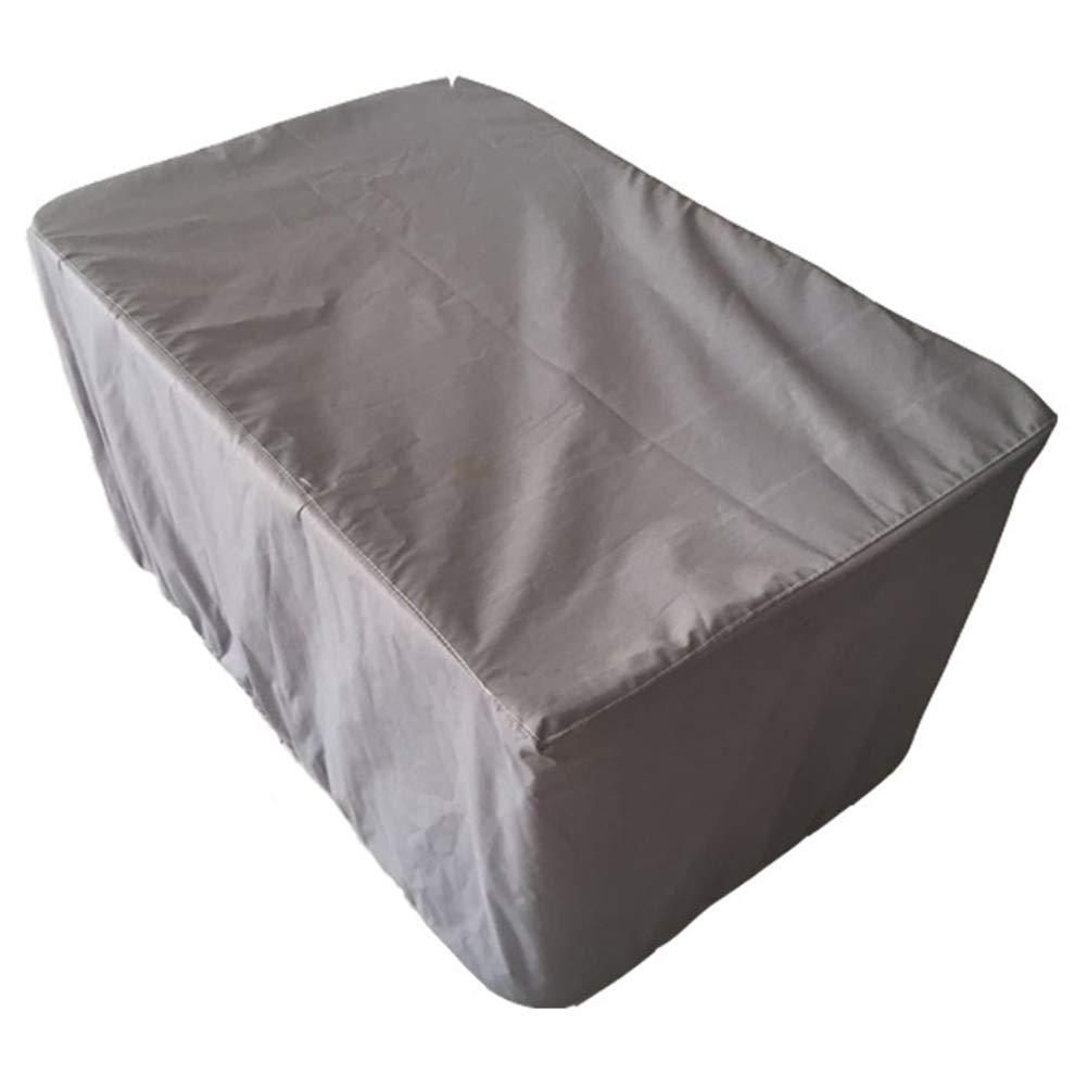 Jia He Staubschutz im Freien Staubschutz - Gartenmöbel Staubschutz Forest Garden Table und Stuhl Sonnenschutz Regendichtes graues Polyestergewebe (12 Größenauswahl)