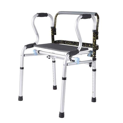 Yxsd andador Anciano discapacitado Plegador de aleación de ...