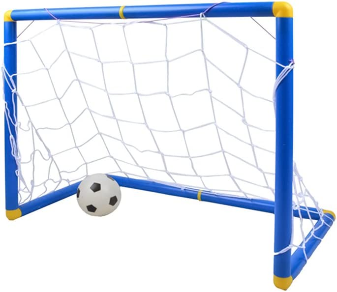 FenglinTech 2 Sets Soccer Goal with Soccer Ball and Pump for Kids