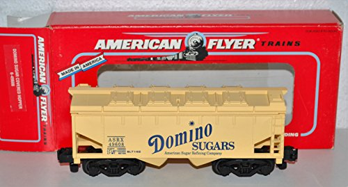American Flyer 6-49608 Domino Sugars covered hopper ASRX 49608 removable top S American Flyer Toy Trains