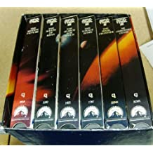 STARTREK 6 Volume VHS: The Motion Picture (Special Longer Version); The Wrath of Khan; The Search for Spock; The Voyage Home; The Final Frontier; The Undiscovered Country