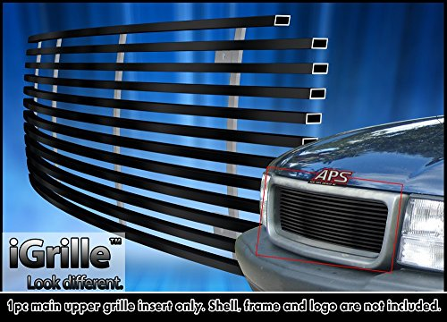 (Off Roader Black Stainless Steel eGrille Billet Grille Grill for 98-03 GMC S-15 Pickup/Jimmy/Somona)