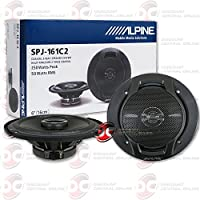Alpine 6 6-inch 2-way Car Audio Coaxial Speakers (Pair) 250W Max