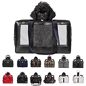 MISO PUP Interchangeable Base Pet Carrier OR Shell Totes for Small Dogs Airline Approved Mix & Match 25