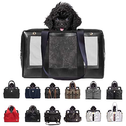 (MISO PUP Interchangeable Mesh Base Pet Carrier Airline Approved for Small Dogs)