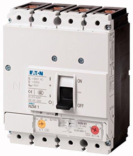 Eaton 281247Puissance Interrupteur, 4P, 25A 25A