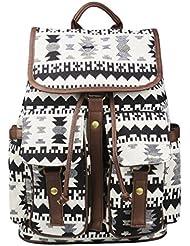 Imiflow Casual Backpacks Teenage Girls School Travel Backpack Daypacks Purse
