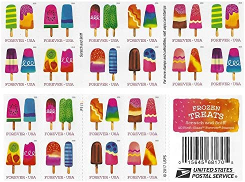 Frozen Treats 2018 Usps Forever First Class Postage Stamp