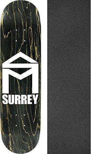 ピアニストボード原理sk8mafia Skateboards Tyler Surrey家Stainスケートボードデッキ – 8.12 X 32 cmでJessup Griptape – 2アイテムのバンドル