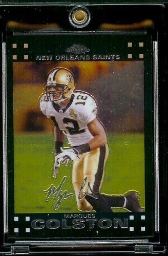 2007 Topps Chrome # TC82 Marques Colston - NFL Football Cards