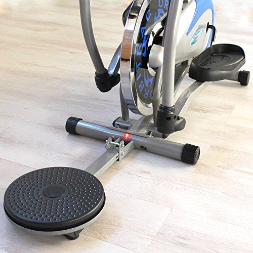 YELLOO Orbitrex Bicicleta elíptica ergométrica, con twister ORB4800S: Amazon.es: Deportes y aire libre