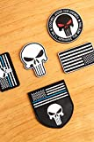 Calculs Full 3D PVC Patches with Velcro for