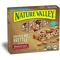 6-Pk Nature Valley Granola Bars, Roasted Nut Crunch, Almond Crunch, 6 Bars 1.2 oz