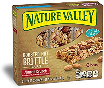 6-Pack Nature Valley Granola, Roasted Nut, 6 Bars 1.2oz