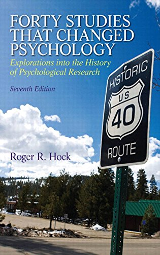 Download Forty Studies that Changed Psychology (7th Edition) Pdf