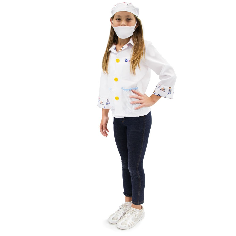 Brainy Doctor Childrens Halloween Costume Dress Up