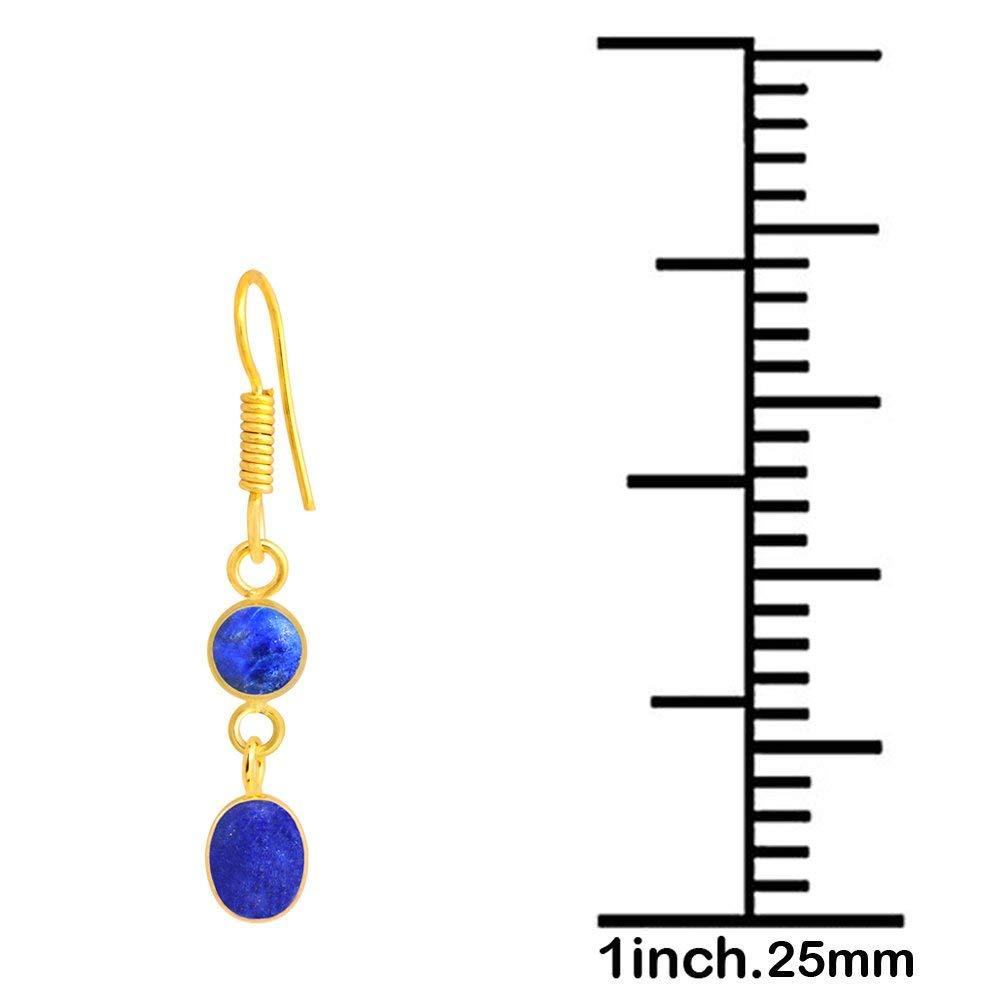 Nickel Free Earrings 7.8 Ctw Hypoallergenic Earrings Dangle Earrings Lapis Lazuli By Orchid Jewelry Earrings For Sensitive Ears Lapis Jewelry Wedding Earrings Dangle Earrings