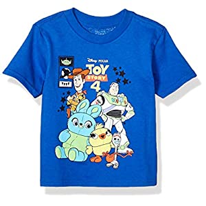 Toy Story Boys Disney Pixar Comic Short Sleeve Tshirt-Toddlers