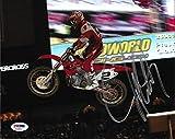 Jeremy McGrath Signed 8x10 Photo COA Motocross Supercross Picture Auto'd - PSA/DNA Certified - Autographed Extreme Sports Photos